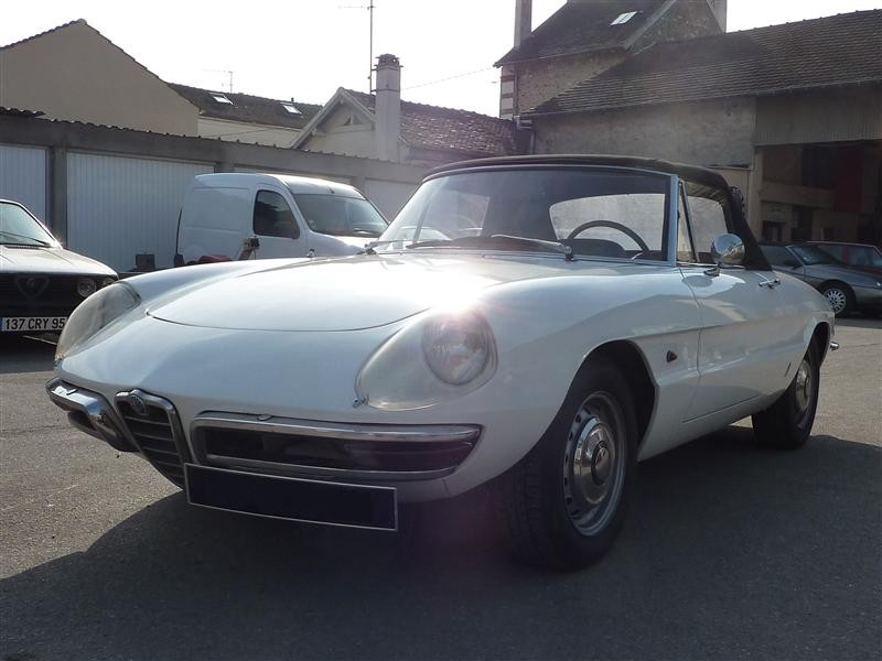 on Alfa Romeo Spider Veloce
